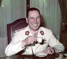 Juan Domingo Perón en 1973.