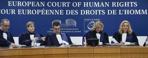 La Cour européenne des droits de l'homme (CEDH).