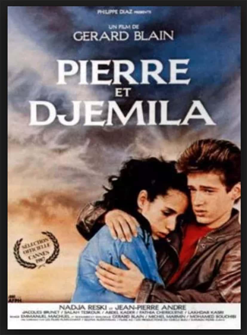 L'affiche du film Pierre et Djemila