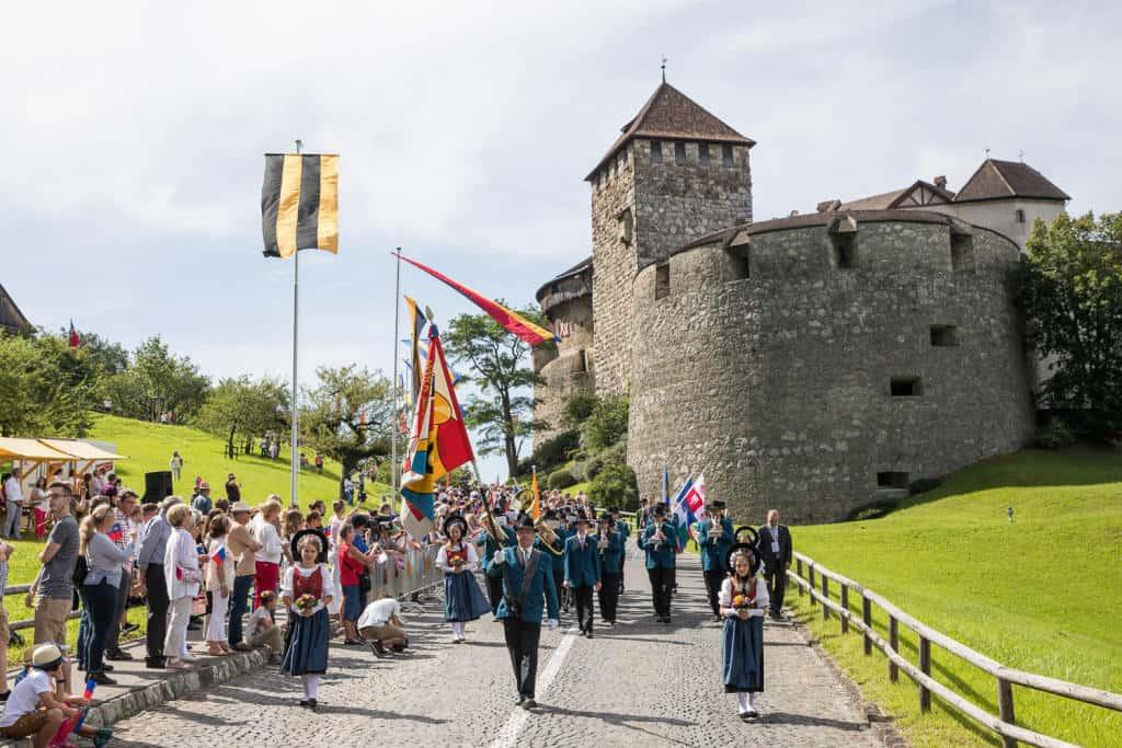 Fête nationale du Liechtenstein.