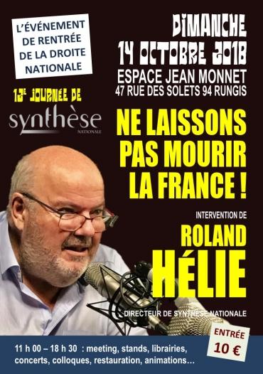 12e JOURNÉE DE SYNTHÈSE NATIONALE