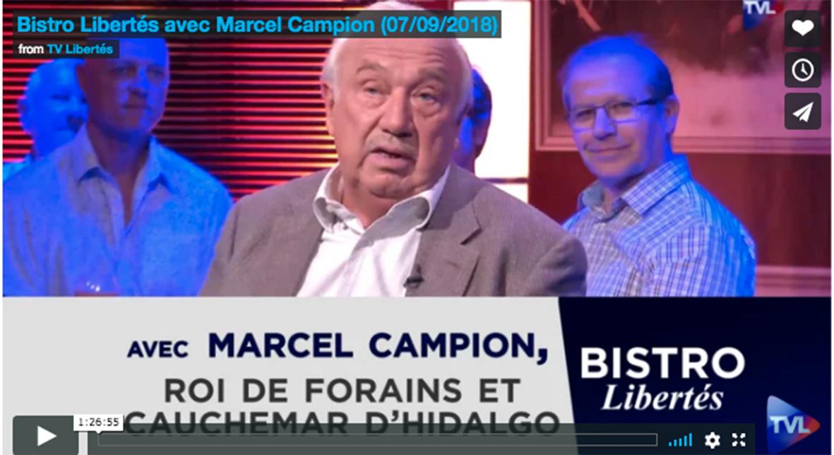 Bistrot Libertes Marcel Campon