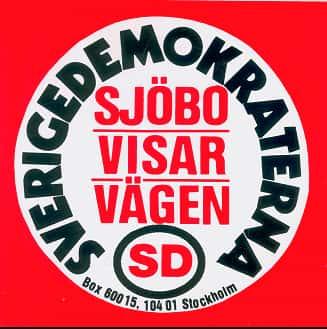 Logo Démocrates de Suède (SD).