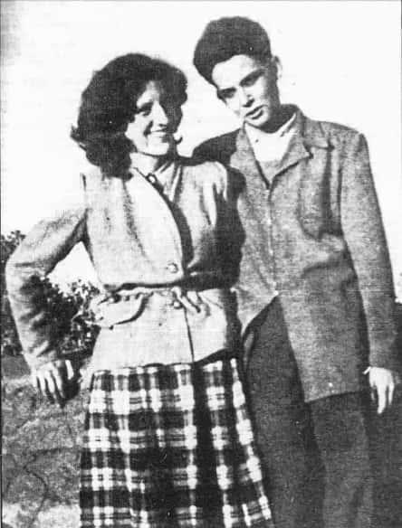 Maurice et Josette Audin.
