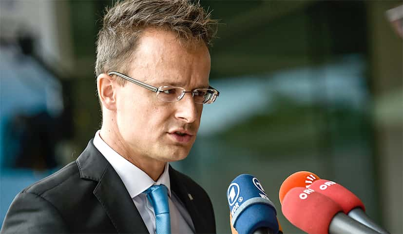 Péter Szijjártó.