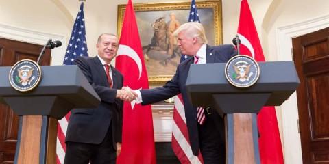 Trump et Erdogan.