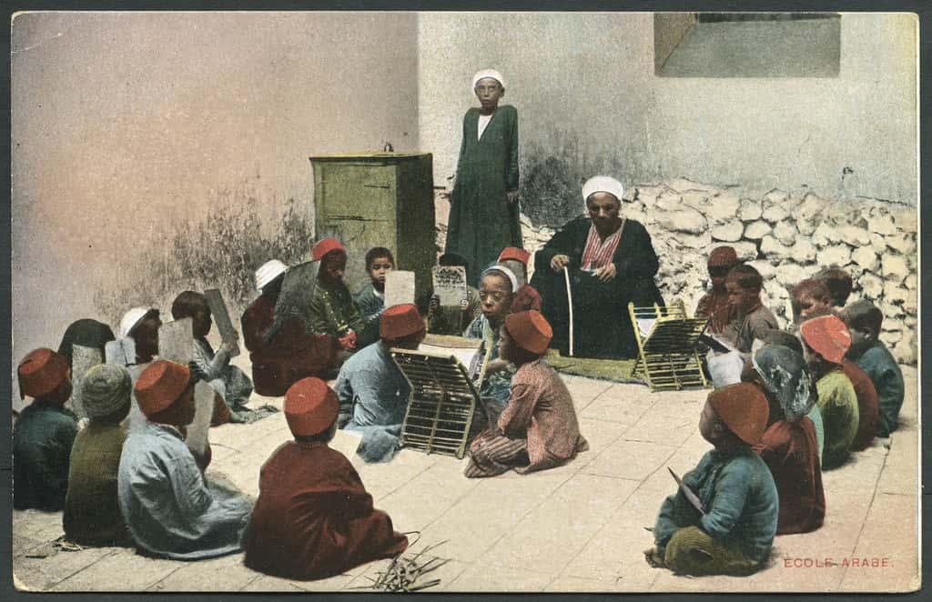 arabe ecole