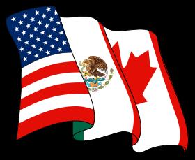 Accord de libre-échange nord-américain.