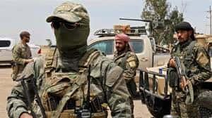 Membres des Forces démocratiques syriennes.