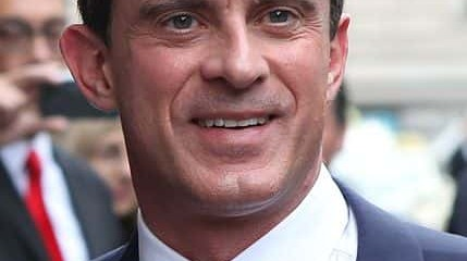 Manuel Valls a Barcelone.