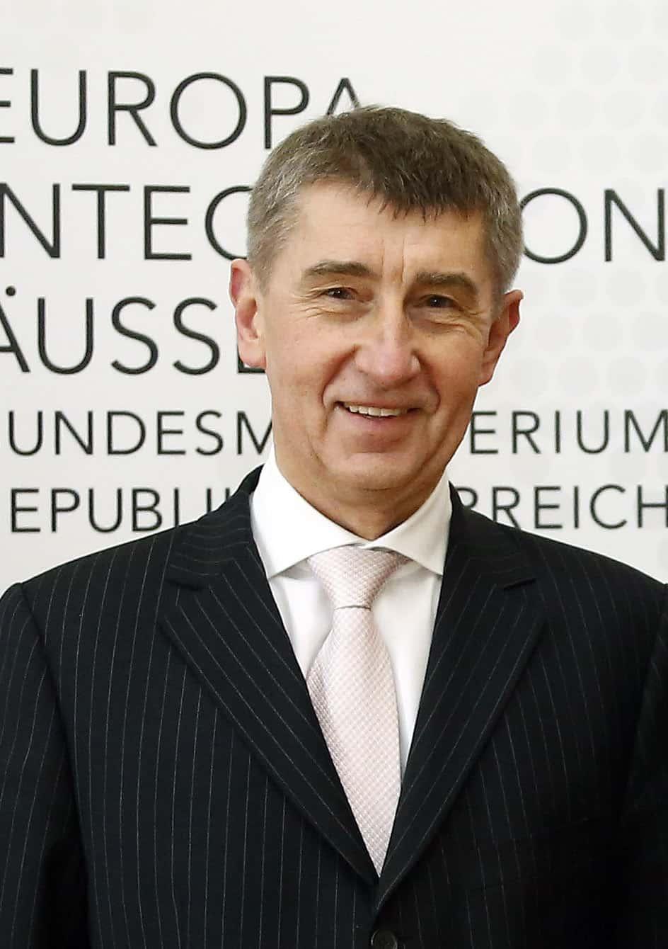 Andrej Babis, président du gouvernement tchèque depuis 2017.