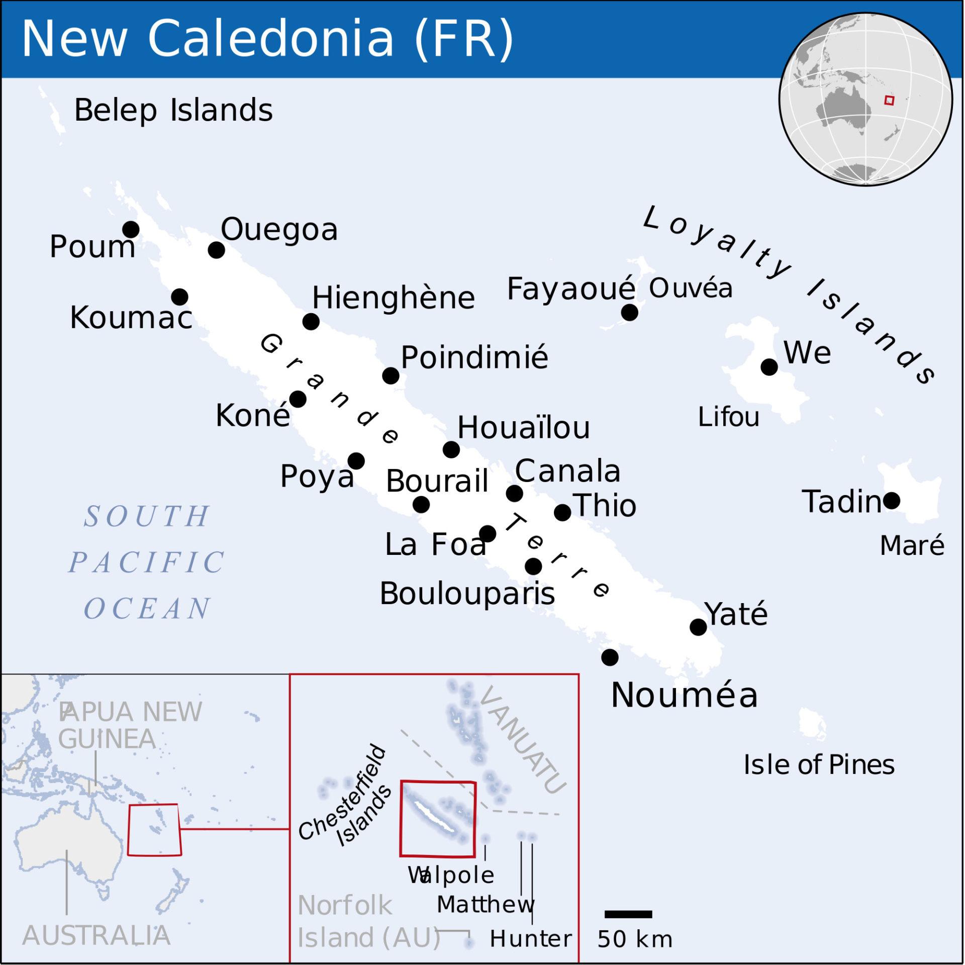 Pourquoi avoir institué deux collèges en Nouvelle Calédonie ?