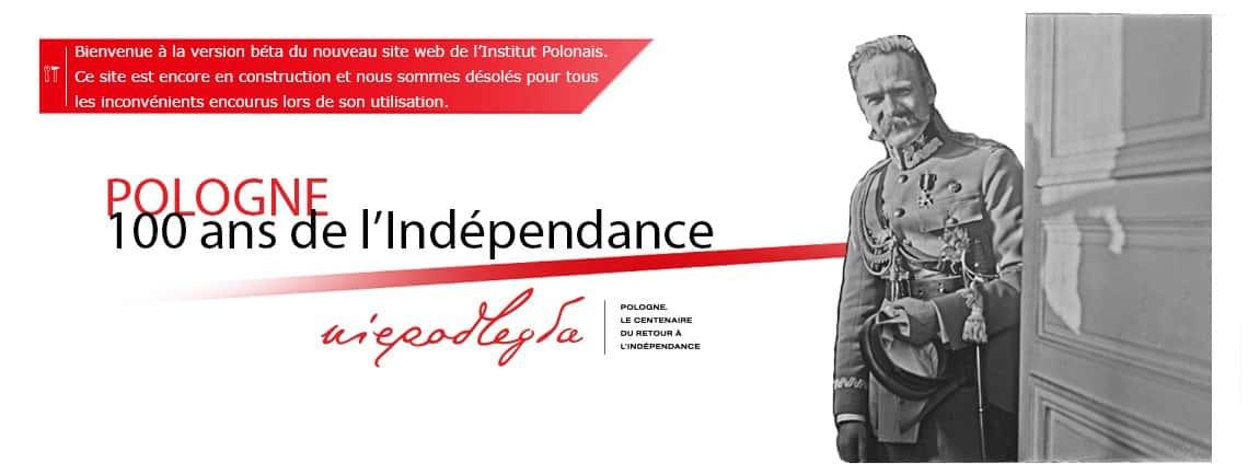100 ans de l'Indépendance de la Pologne.