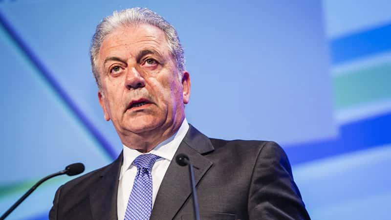 Dimitris Avramopoulos, Commissaire aux migrations .
