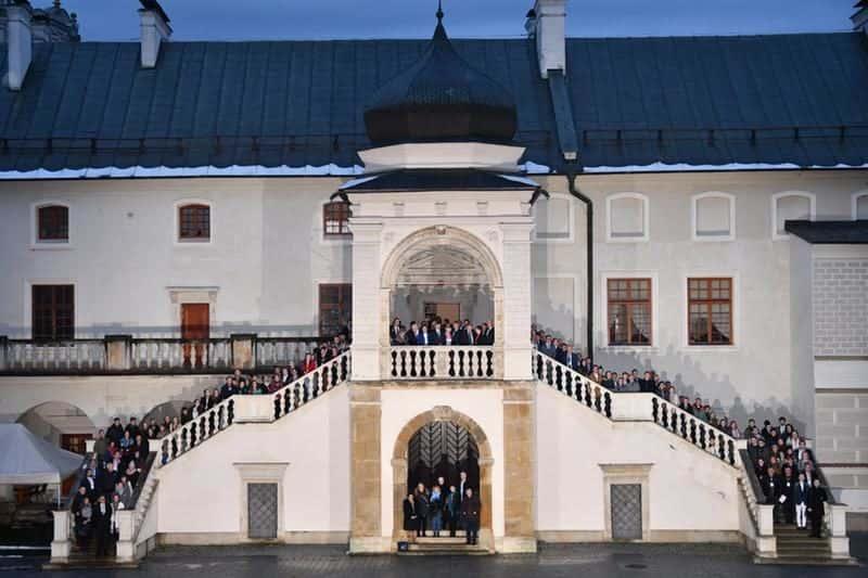 Château de Krasiczyn.