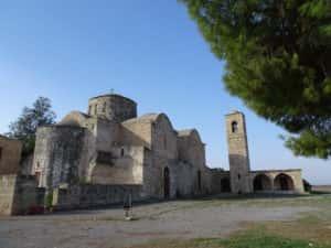 Le monastère Saint-Barnabé.