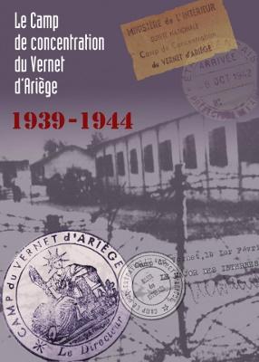 Affiche d'une exposition sur le camp de concentration du Vernet.