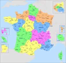 Départements et régions d'outre-mer.