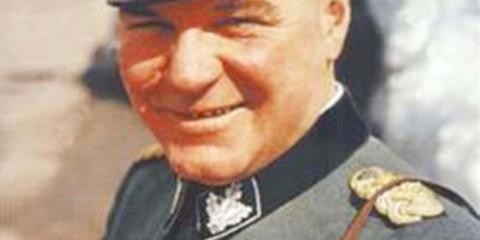Johann Rattenhuber, chef du RSD, le Service de Sécurité du Reich.