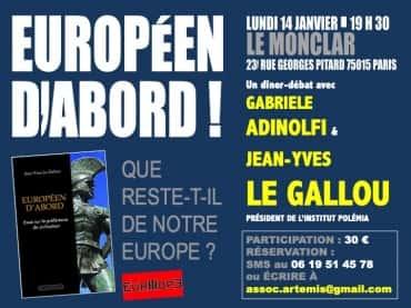 diner-debat avec Jean-Yves Le Gallou et Gabriele Adinolfi