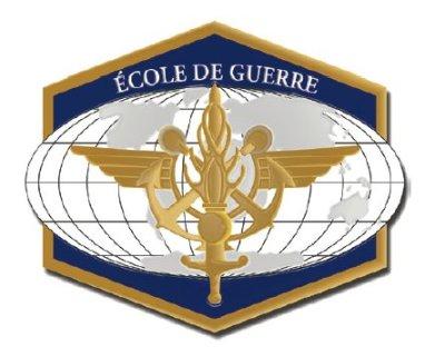 Insigne de l'École de guerre.