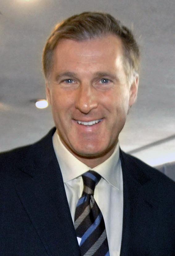 Le chef du Parti populaire du Canada, Maxime Bernier.