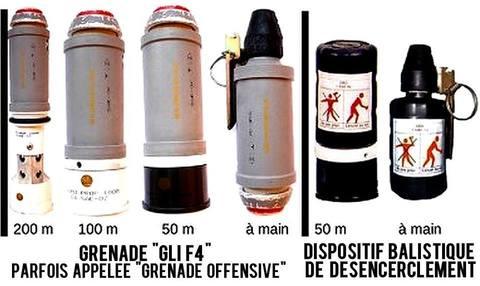 grenade GLI F4