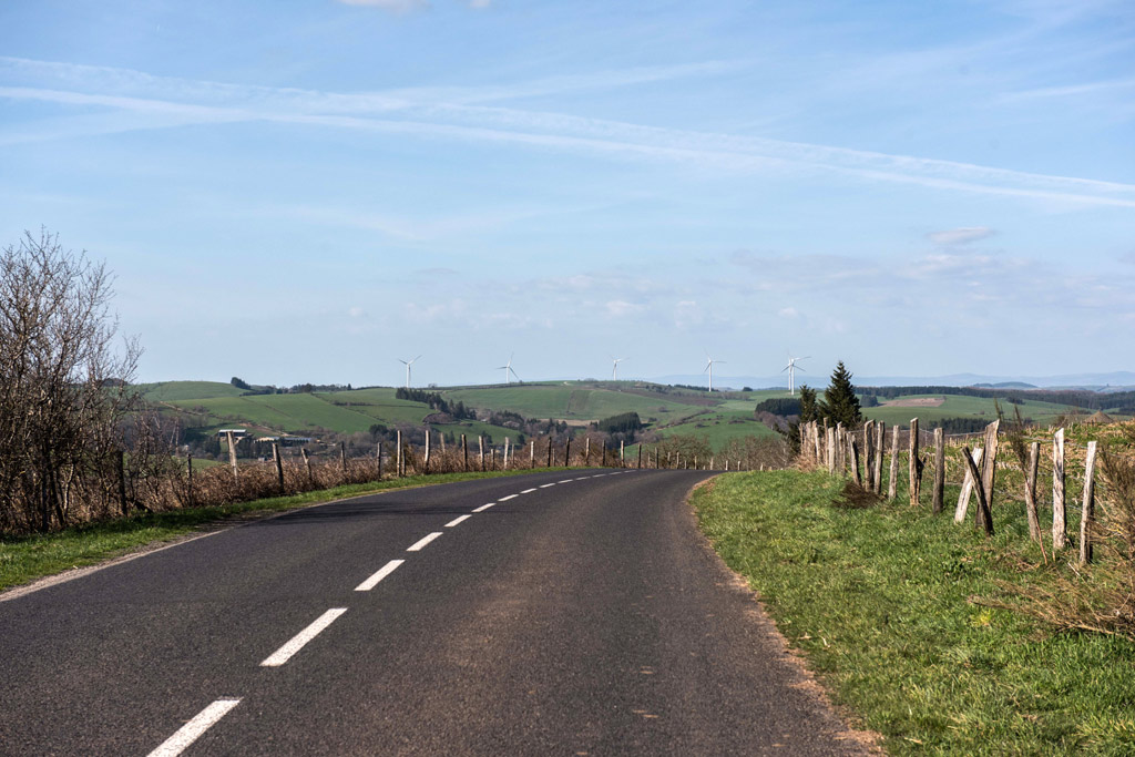 Petite route du Tarn (Aveyron).
