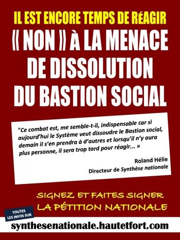 Dissolution Bastion sociale