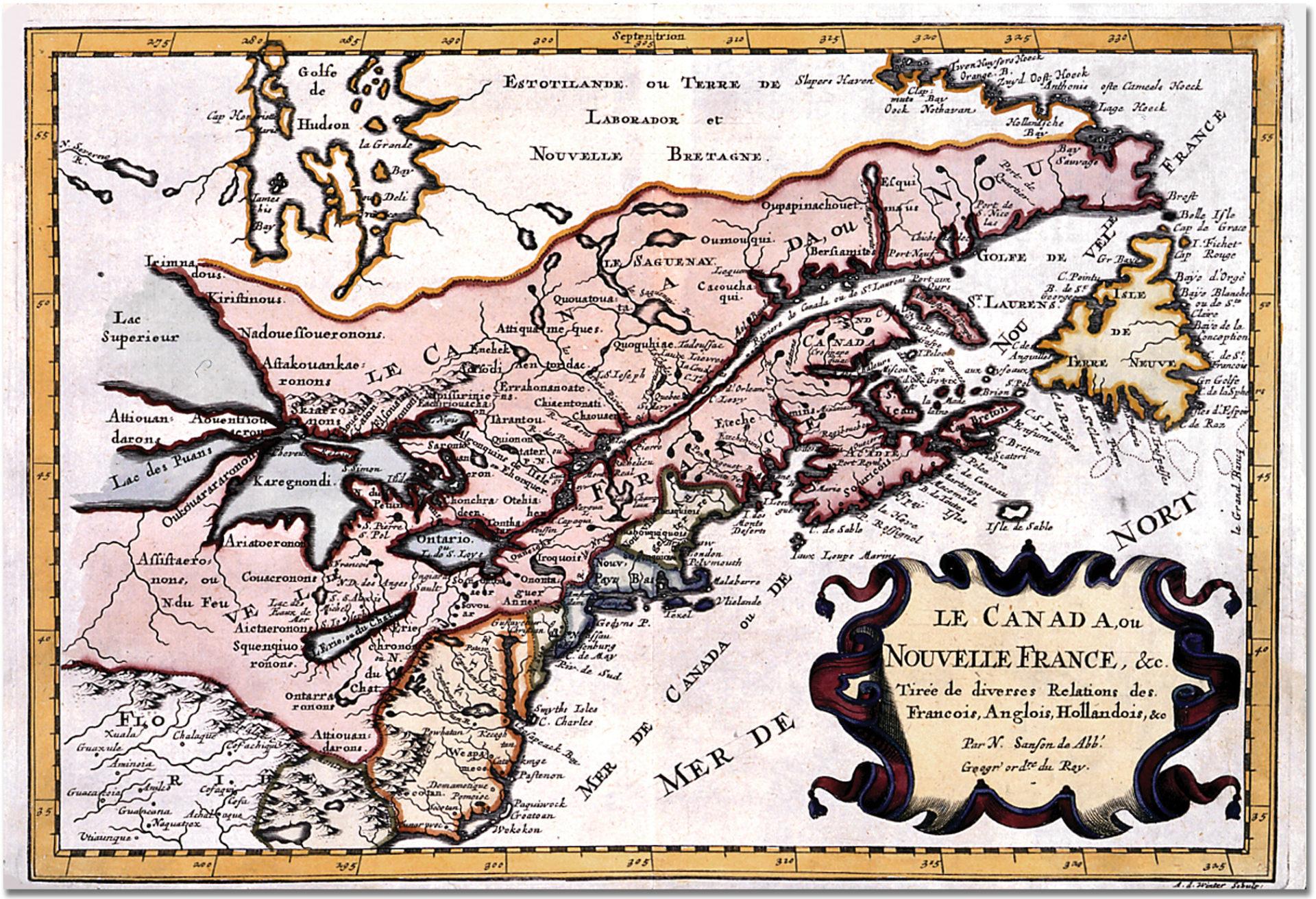 Le Canada ou Nouvelle France.
