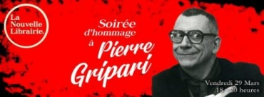 Nouvelle Librairie soiree Pierre Gripari