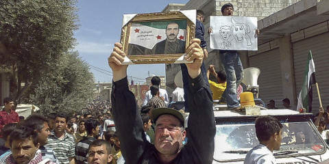 manifestants Idlib