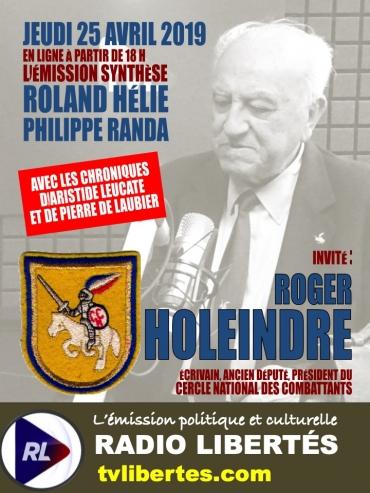 Invite Roger Holeindre