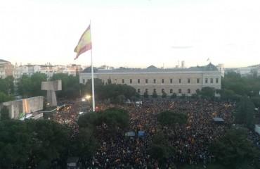 Manifestation Espagne
