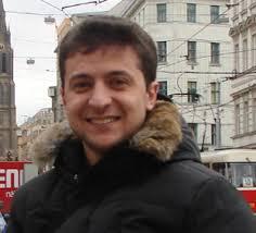 Volodymyr Zelenski.