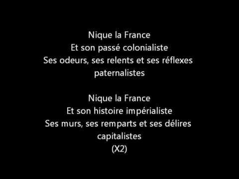 ZEP - Nique la France (Paroles).