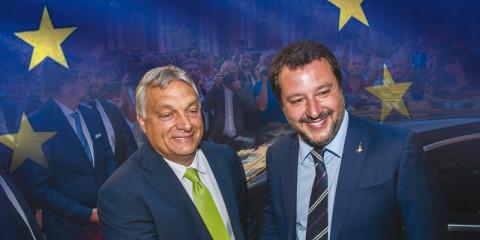 Viktor Orban - Matteo Salvini