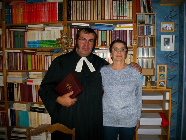 Le Pasteur Blanchard et son épouse.