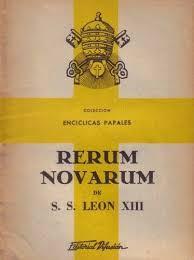 Rerum novarum.