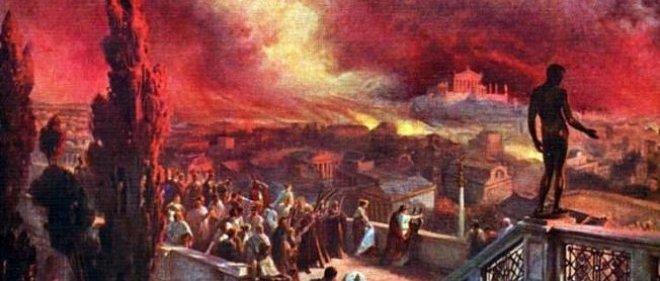 L'incendie de Rome.