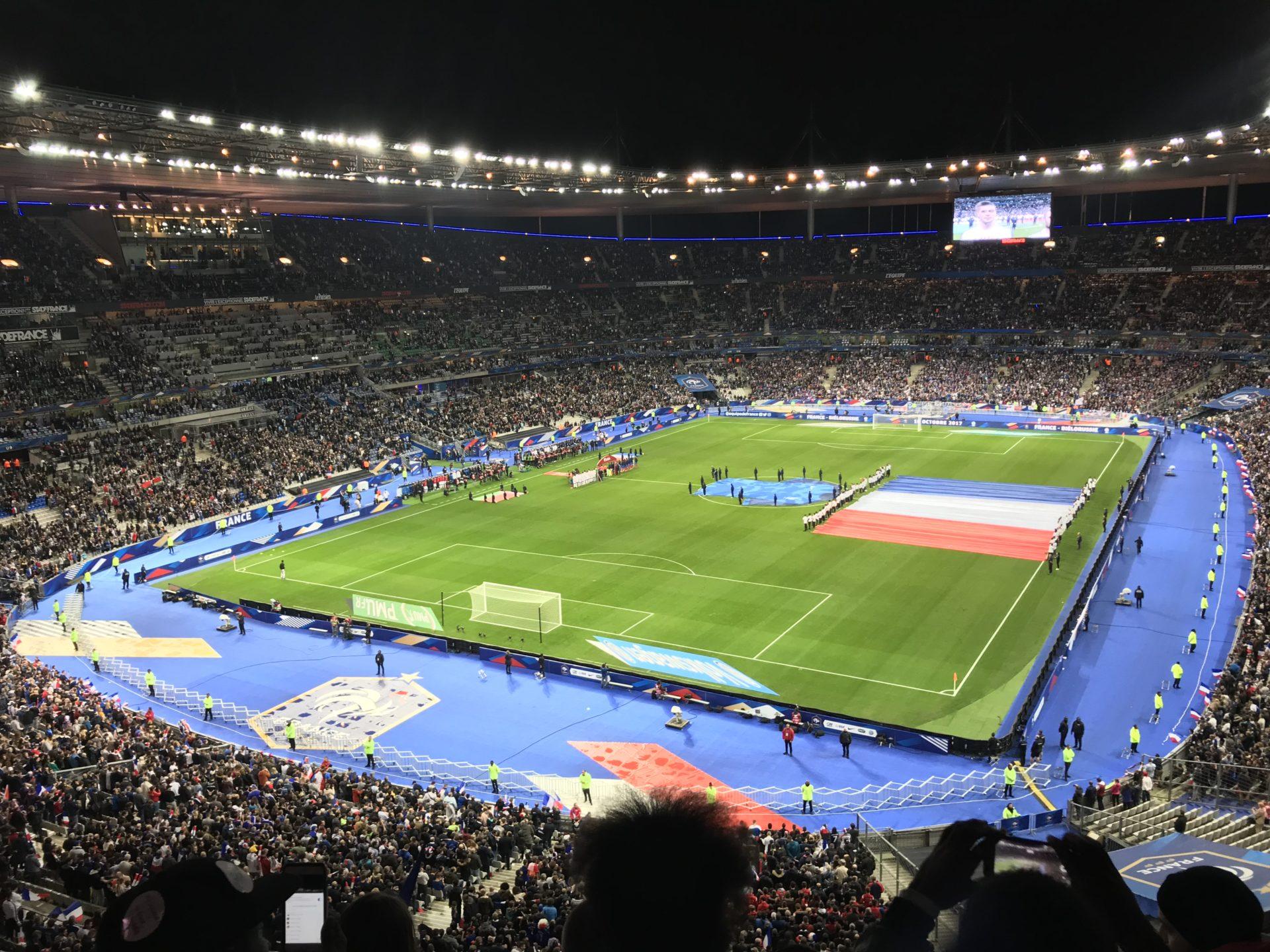 Football France-Bielorussie