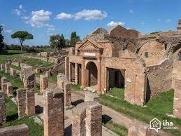 Ruines d'Ostia Antica.