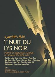 Afffiche Lys noir 1re nuit