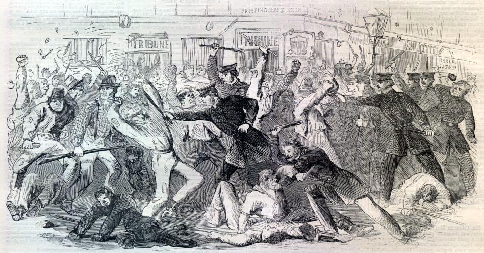 Il y a 170 ans, Catholiques et Protestants s'affrontaient à York Point.