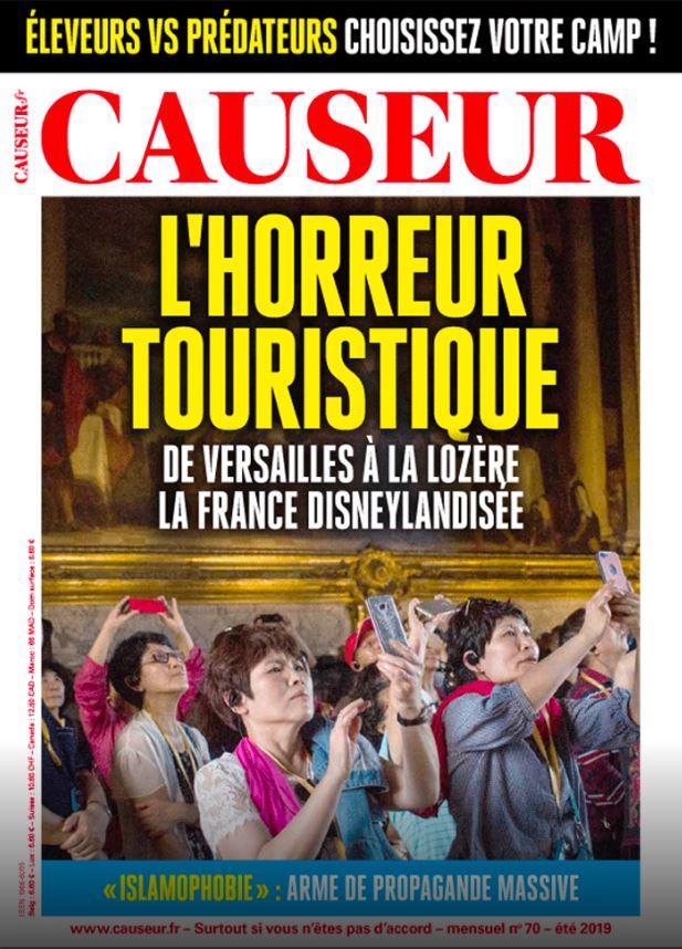 Causeur Horreur touristique