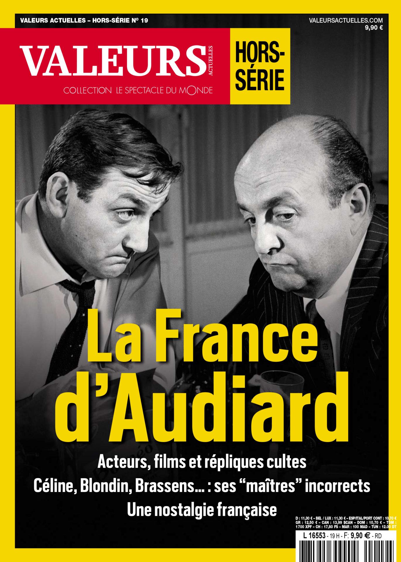 Hors-série Valeurs actuelles numéro 19 : La France d'Audiard,