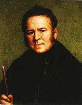 Portrait de Stendhal par Ducis, 1835, Bibliothèque Sormani, Milan. Portrait mélancolique.