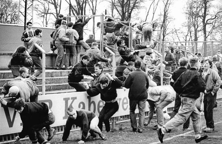 le phénomène du hooliganisme est bien connu en Europe depuis les années 60…
