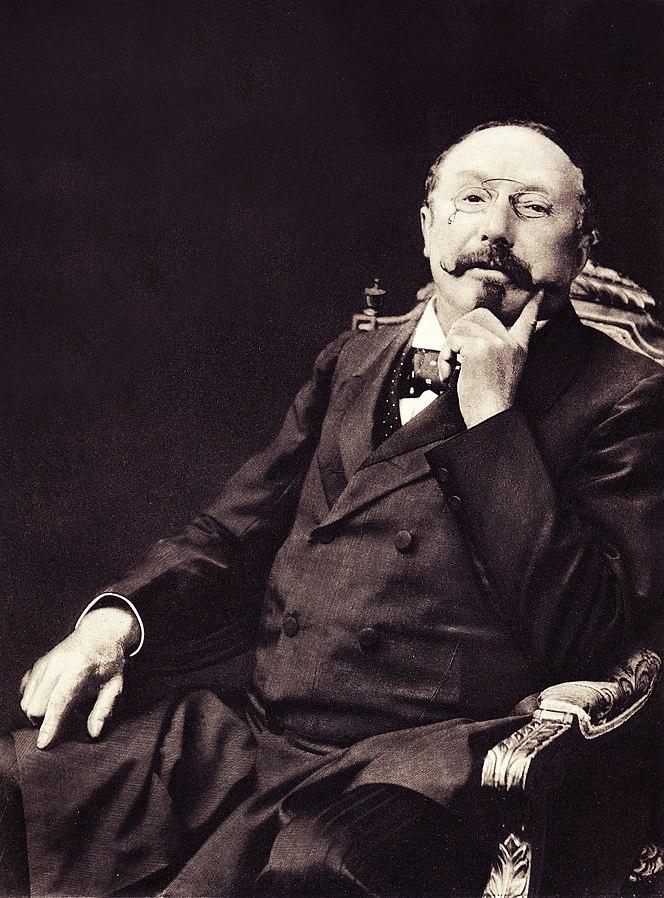 Edmond Picard, le «père» du nationalisme belge.