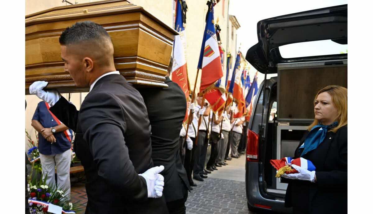 Les obsèques de Jean-Mathieu Michel…